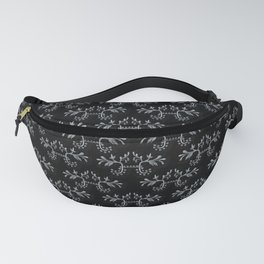 Goth plant pattern Fanny Pack
