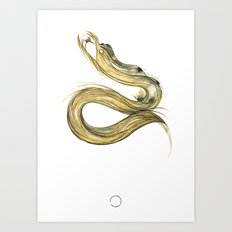Fáfnir Art Print
