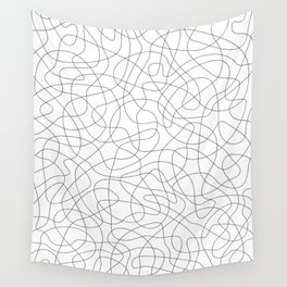 One Line Pattern Wall Tapestry