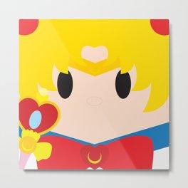 Sailor Moon Block Metal Print
