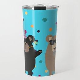 Party Bear Travel Mug