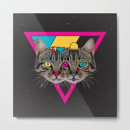 Our New Feline Overlords Metal Print