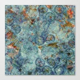 Cellular (Blue) Canvas Print