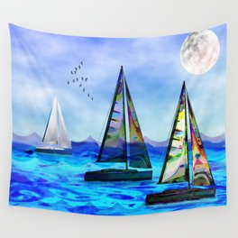 Beyond The Sea Wall Tapestry
