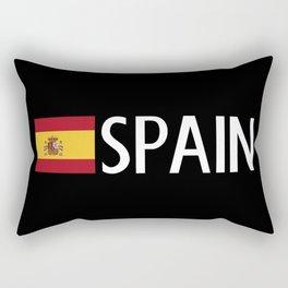 Spain: Spanish Flag & Spain Rectangular Pillow