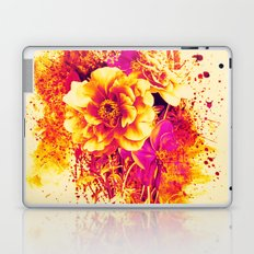 splash flowers Laptop & iPad Skin