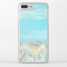 Seagulls by the Seashore Clear iPhone Case