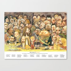 The Court of Donald I Canvas Print