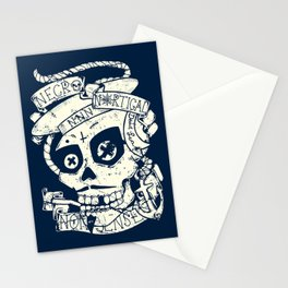 Necro Nautical Nonsense  Stationery Cards