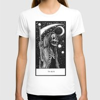 tarot T-shirts featuring Death Tarot by Corinne Elyse