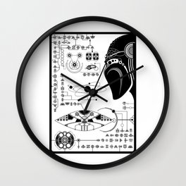 Page of another textbook Wall Clock