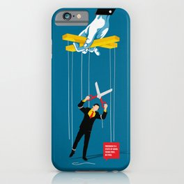 Cut The Strings iPhone Case