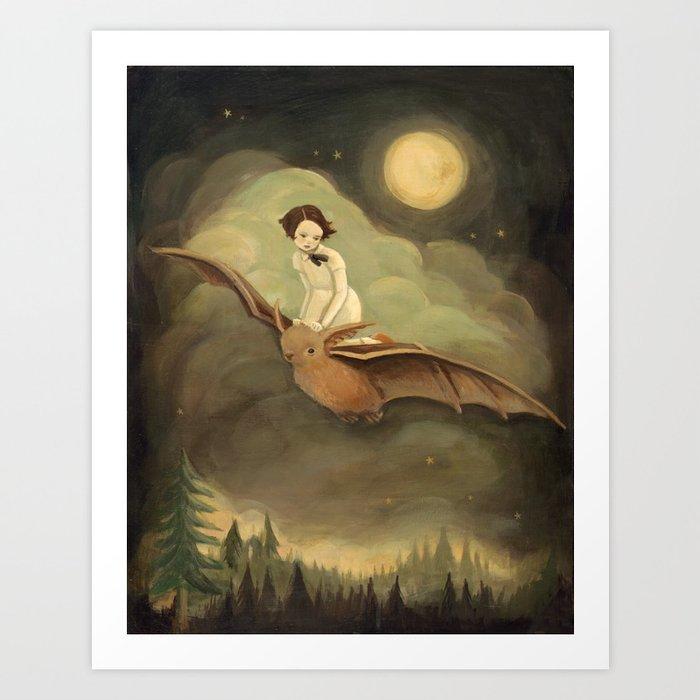 Flying By Night Kunstdrucke