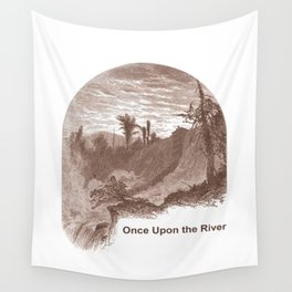 Once Upon the River (Ticonderoga Falls) Wall Tapestry