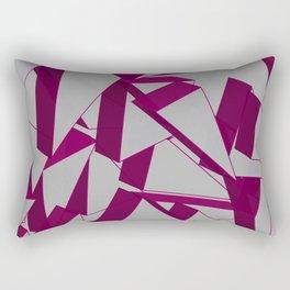 3D Broken Glass IV Rectangular Pillow