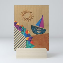 Smooth Sailing Mini Art Print