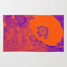Poppy Art  Rug