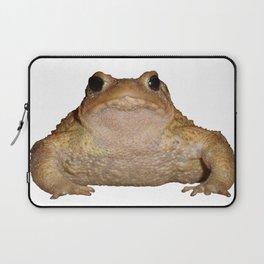 Bufo Bufo European Toad  Isolated Laptop Sleeve