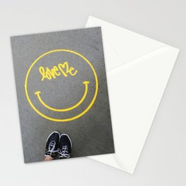 love me Stationery Cards