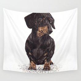Dog-Dachshund Wall Tapestry