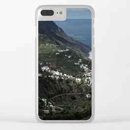 A Perfect Place Clear iPhone Case