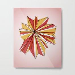 Origami 7 Metal Print