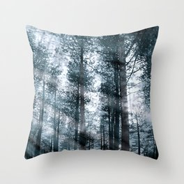 I Talk to the Trees... Throw Pillow