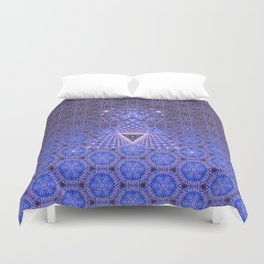 Lifeforms | Acid abstract Duvet Cover