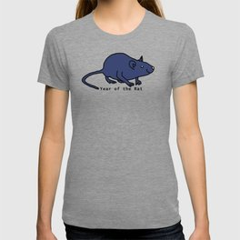 Blue Year of the Rat T-shirt
