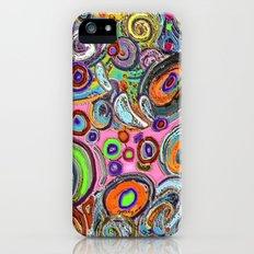 Abstracto Rocoso iPhone (5, 5s) Slim Case