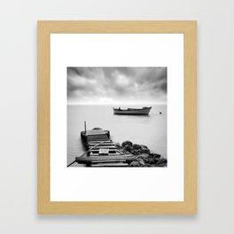 The Pier Framed Art Print