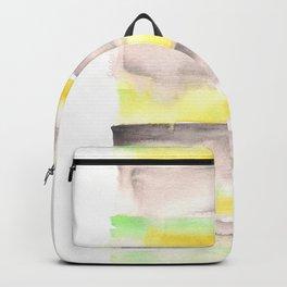 [161216] 19. Banana |Watercolor Brush Stroke Backpack