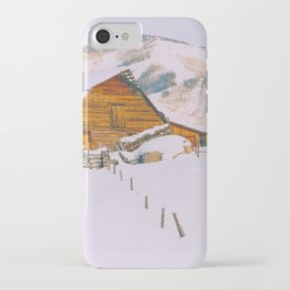 Old Barn - Steamboat - a Colorado Icon iPhone Case