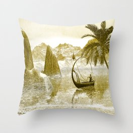 In the rian Throw Pillow