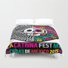 La Catrina Fest MX 2015 Duvet Cover