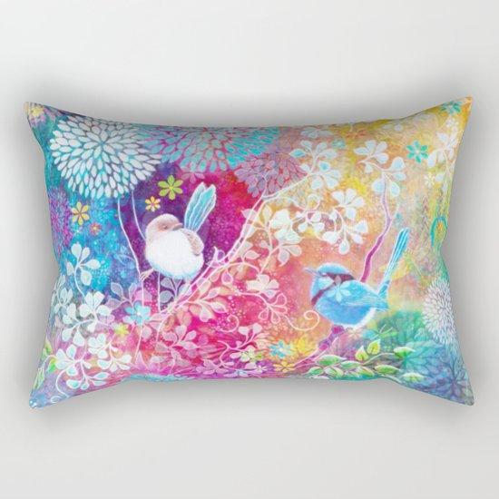 In The Garden of Eden Rectangular Pillow