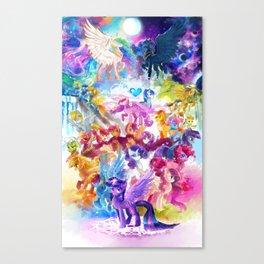 MLP my little pony Canvas Print