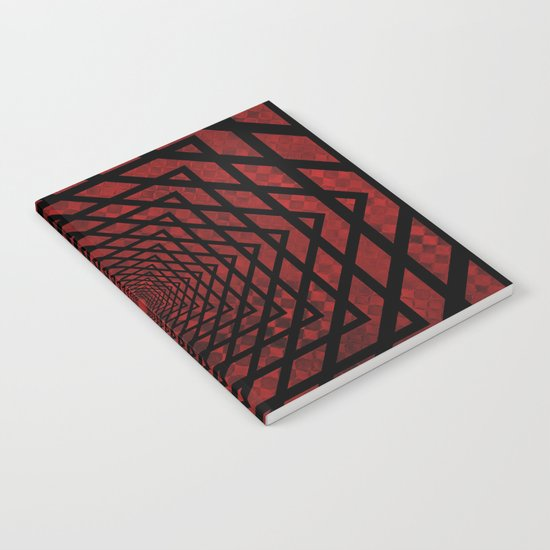 Eternally Red Notebook