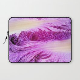 Purple Cabbage Beautiful Abstract Patterns By Nature Laptop Sleeve