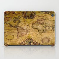 """vintage map iPad Cases featuring VintaGe Map by """"CVogiatzi."""