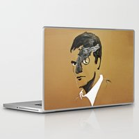 quentin tarantino Laptop & iPad Skins featuring Quentin by Gabby Grife | GuinArt