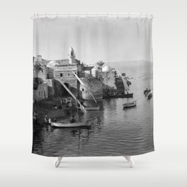View of Tiberias Shower Curtain