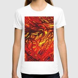 Molten Firegrass V by Chris Sparks T-shirt