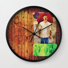 Pol Pot's Deathbed Wall Clock