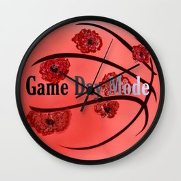 Game Day Mode Wall Clock