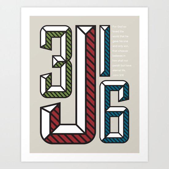J316 Art Print