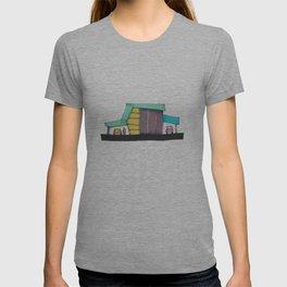 Retro Auto Shop Illustration 101 T-shirt