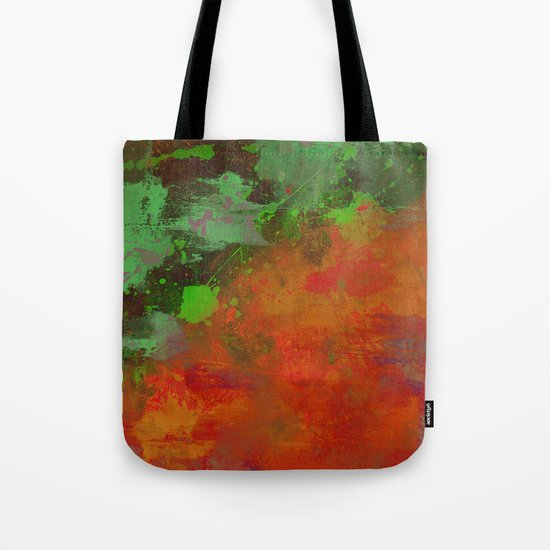A Difference Of Opinion (Abstract painting) Tote Bag