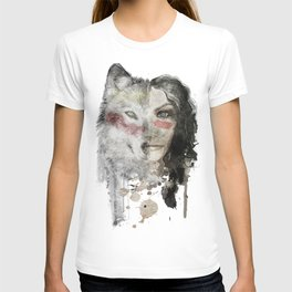 The Wolf Lady  T-shirt