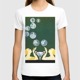 "1920's Art Deco Design ""Bubbles"" T-shirt"